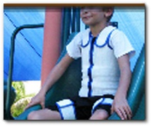 FINALLY - A compression brace that is comfortable to wear and has the adjustability your CP child needs!